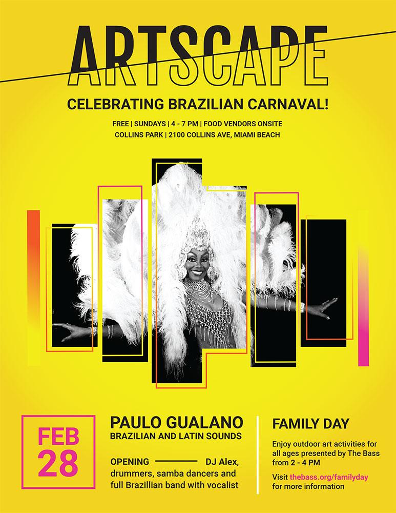 Artscape Carneval Flyer